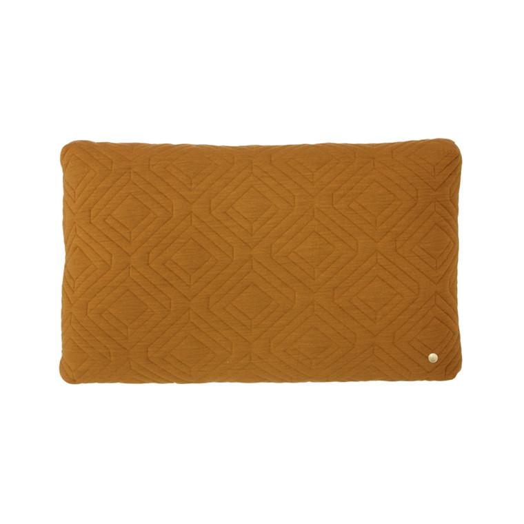 Ferm Living Quilt Cushion Curry 60 x 40