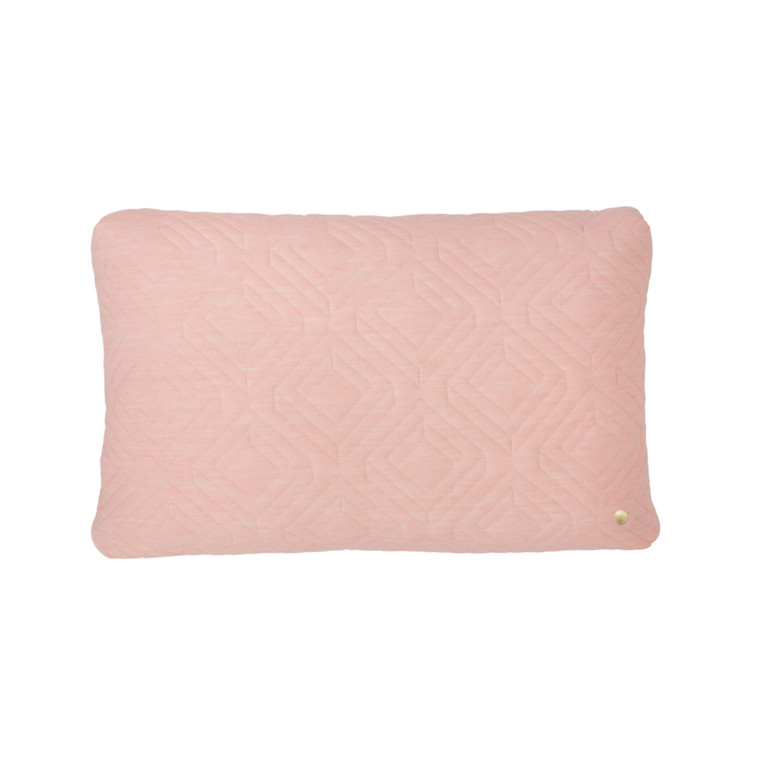 Ferm Living Quilt Cushion Rose 60 x 40