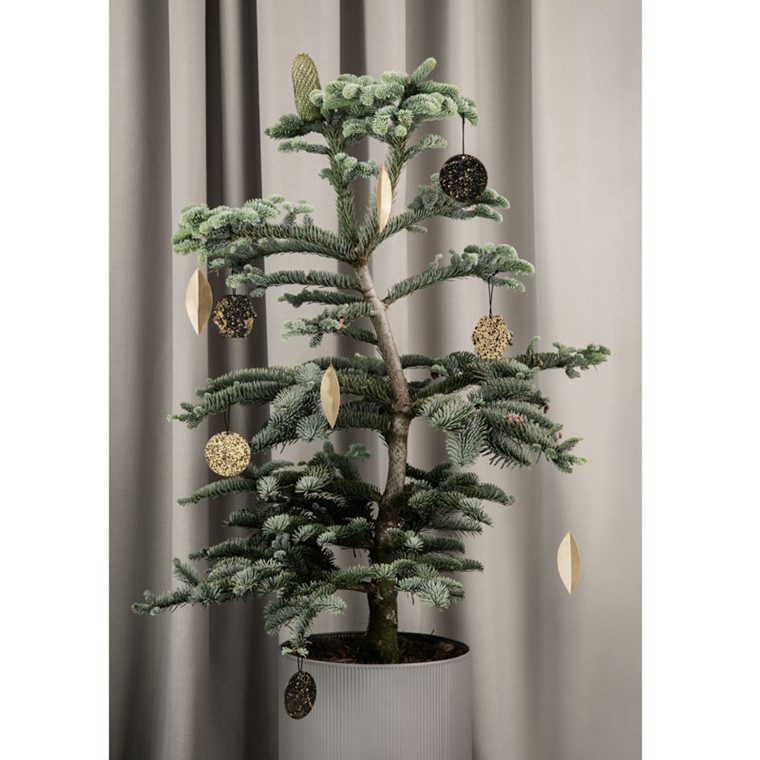 Ferm Living Leaf Brass Ornaments