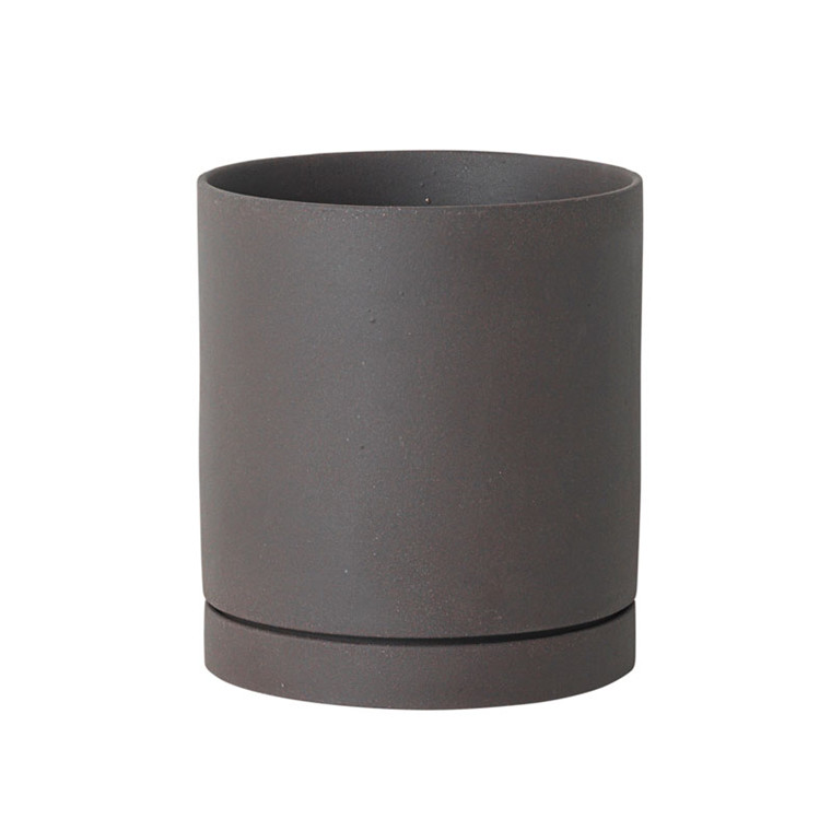 Ferm Living Sekki Pot Charcoal Large