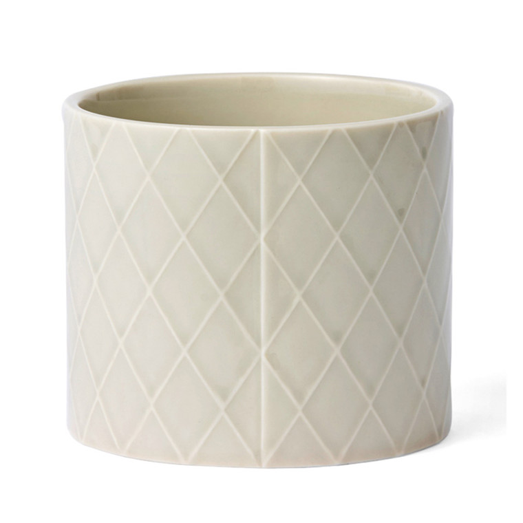 Finnsdottir Pipanella Flower Pot Diamond Medium Grey