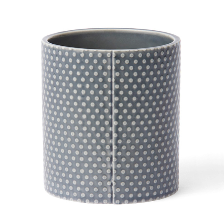 Finnsdottir Pipanella Flower Pot Dotted Small Dark