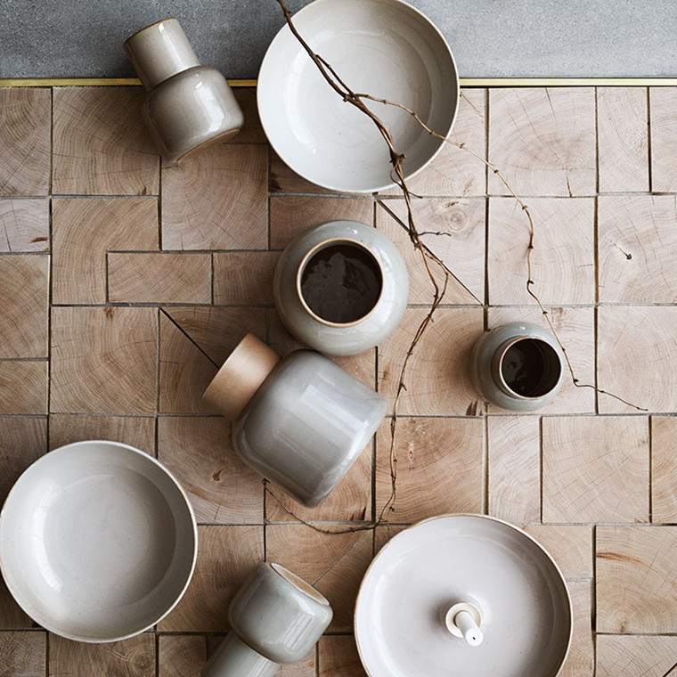 Fritz Hansen Objects Stentøj Jar Vase