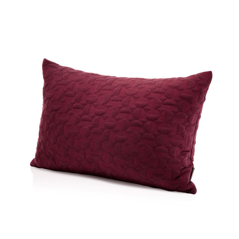 Fritz Hansen Objects Vertigo Pillow Burgundy 40 x 60