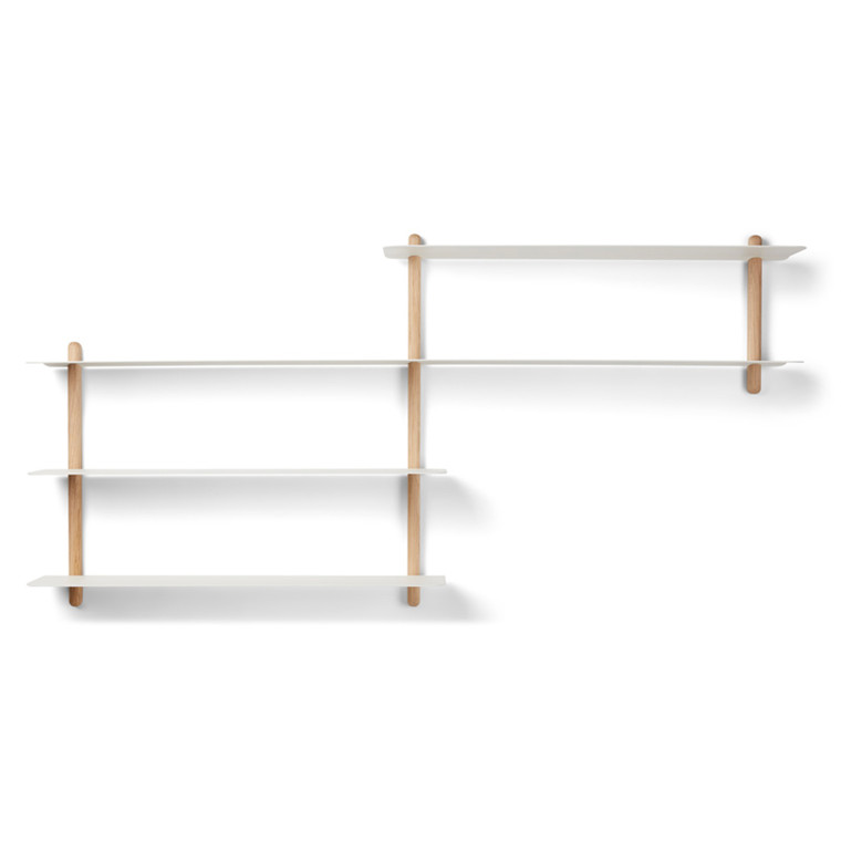 Gejst NIVO Shelf B Light Oak White