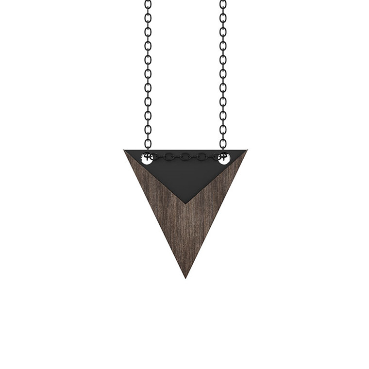 Grundled Nominativ Necklace Black