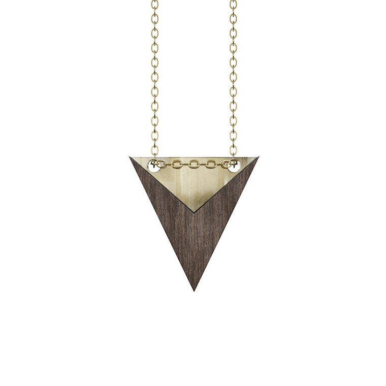 Grundled Nominativ Necklace Gold