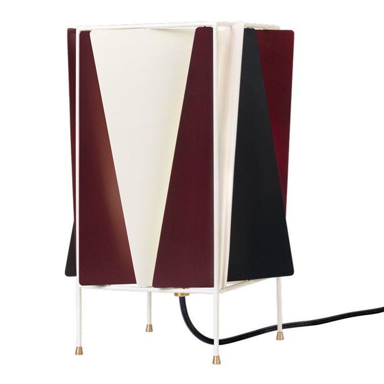 Gubi B-4 Table Lamp Wine Red