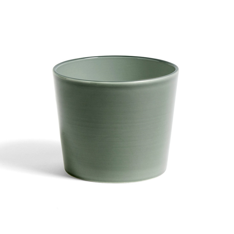 HAY Botanical Family Pot M Dusty Green