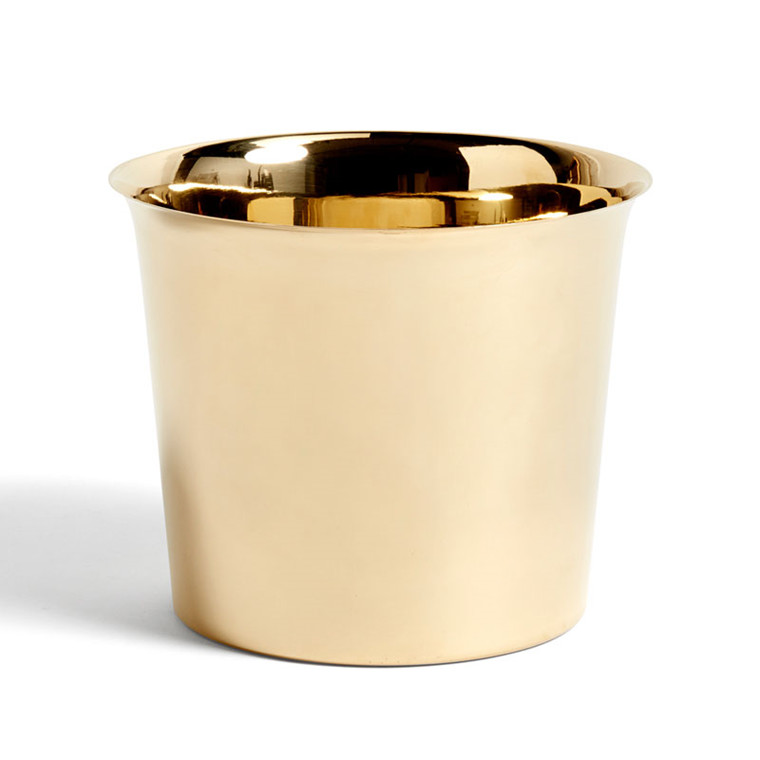 HAY Botanical Family Pot L Brass