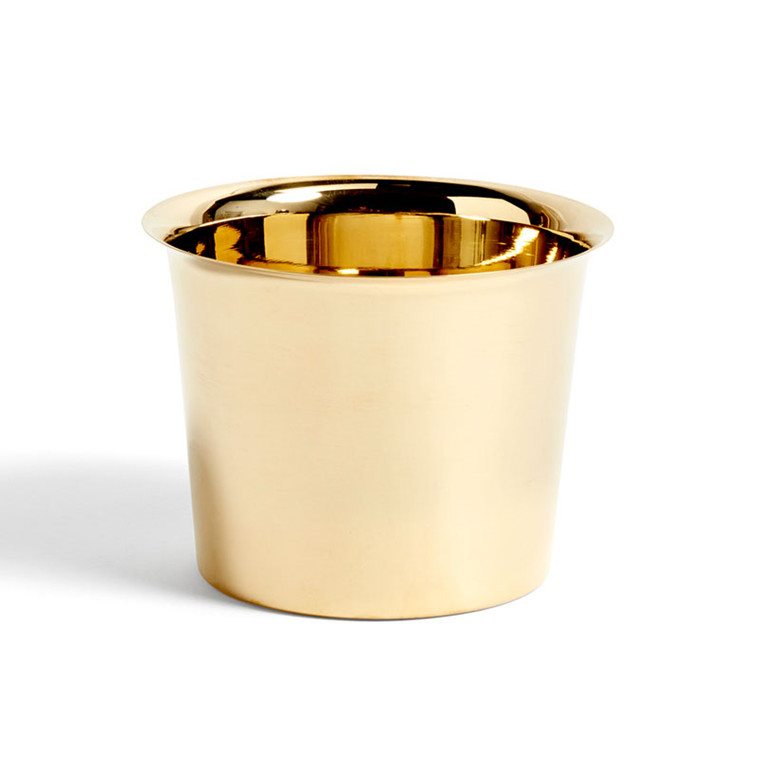 HAY Botanical Family Pot M Brass