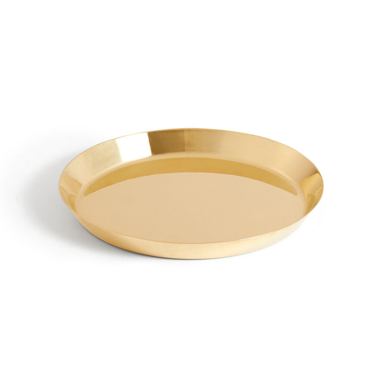 HAY Botanical Family Saucer M Brass