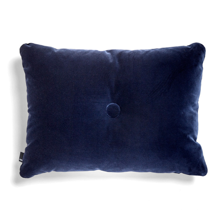 HAY Dot Cushion 1 Dot Soft Navy