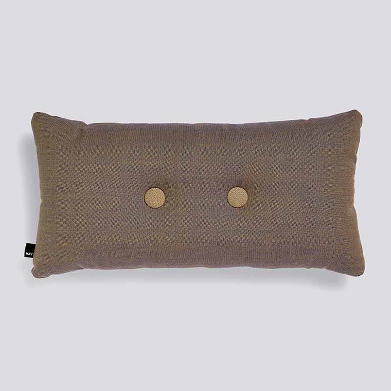 HAY Dot Cushion Surface 2 Dots Bronze