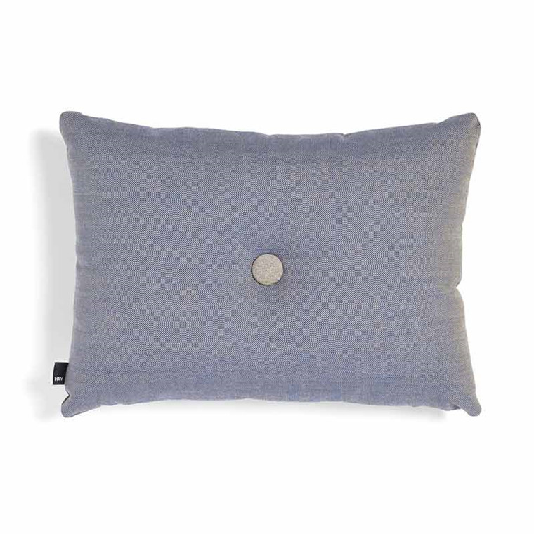HAY Dot Cushion Surface 1 Dot Steel Blue