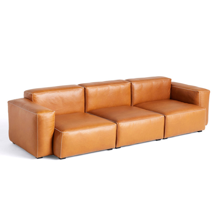 HAY Mags Soft 3 Seater Sofa Combination 1 Silk SIL0250.