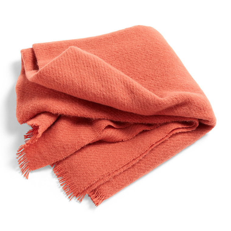 HAY Mono Blanket Rosehip