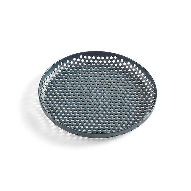 HAY Perforated Tray S Dark Green