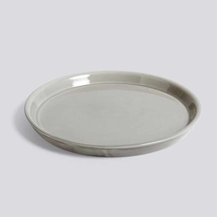 HAY Botanical Family Saucer L Light Grey
