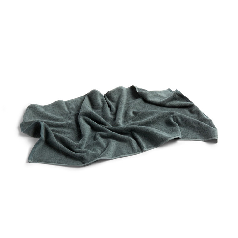 HAY Frotté Guest Towel Dark Green