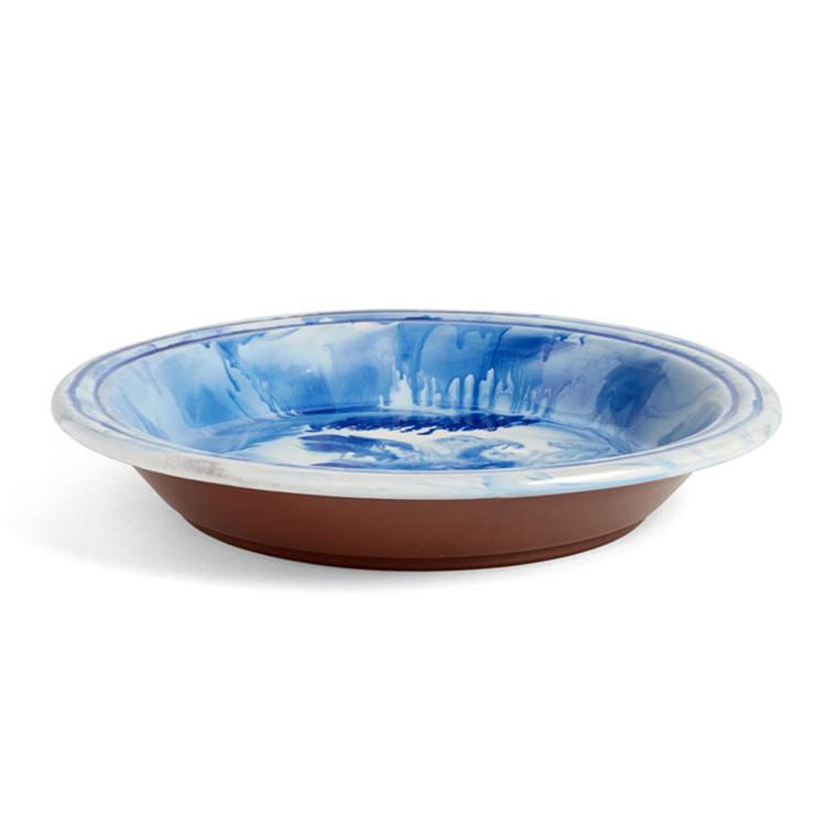 HAY Swirl Bowl Blue