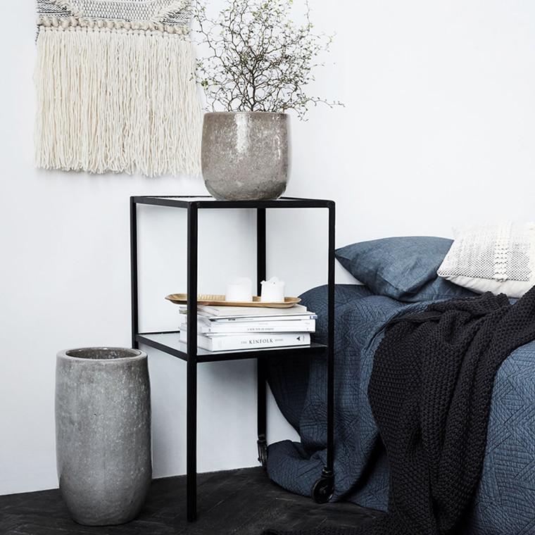 House Doctor Earth Grå Vase