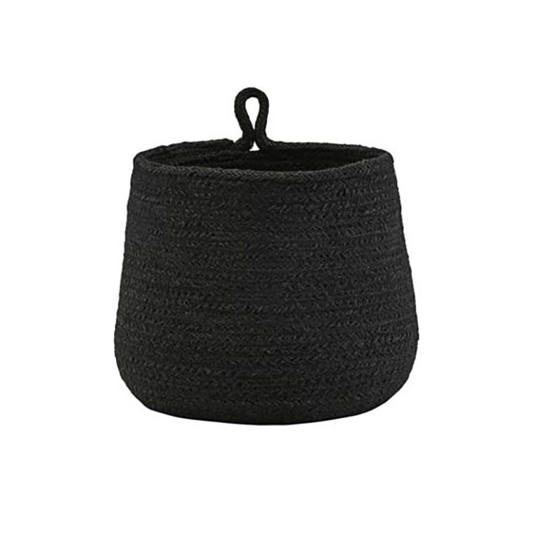 House Doctor Hang Basket Black