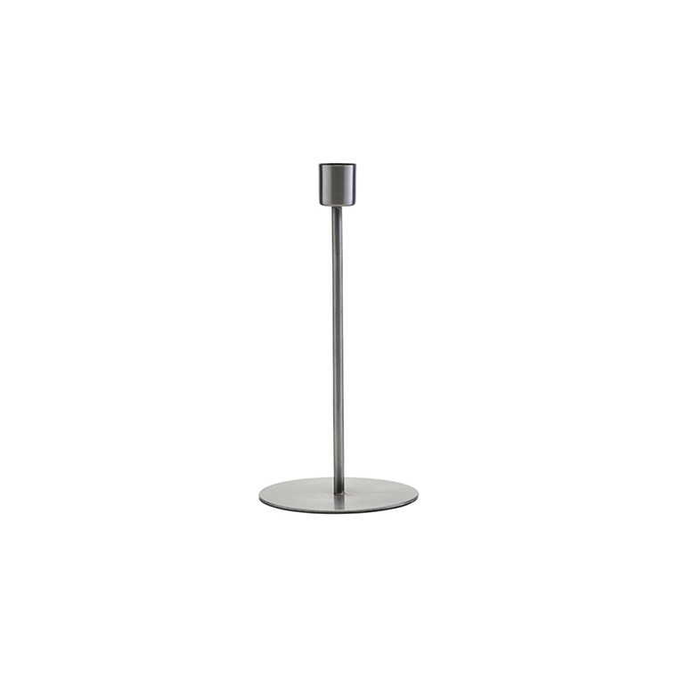 House Doctor Anit Iron Candle Stand H 20