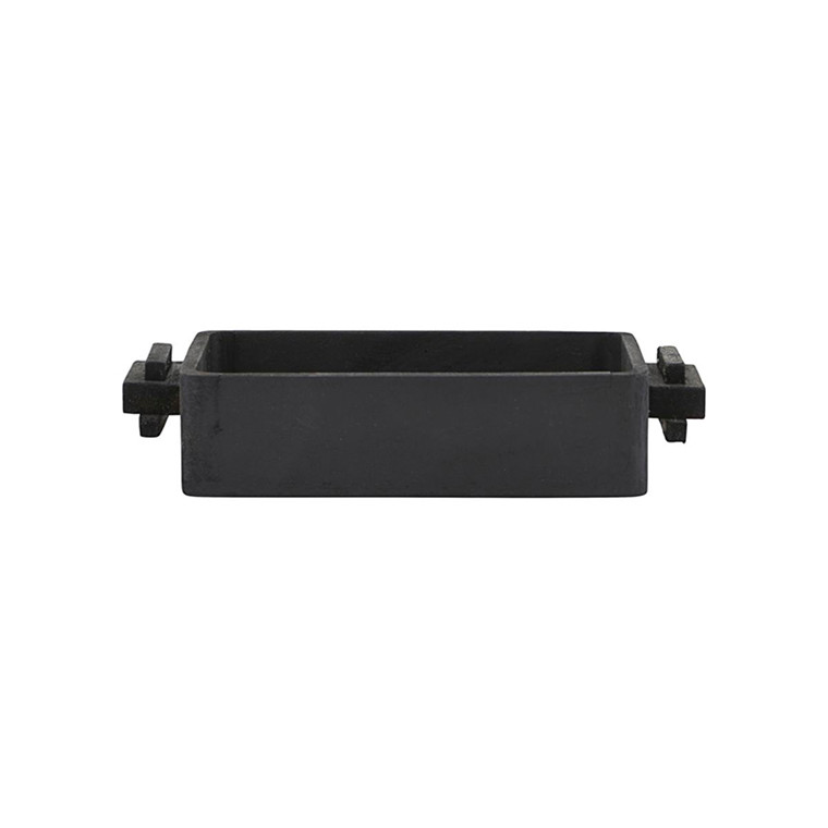 House Doctor Block Tray Square Black