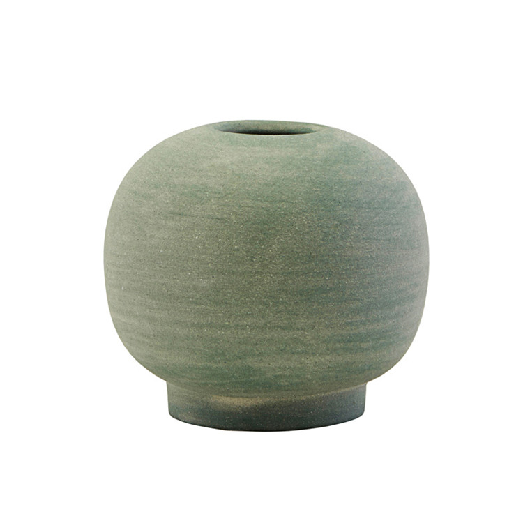 House Doctor Mini Bobbles Vase Dusty Green