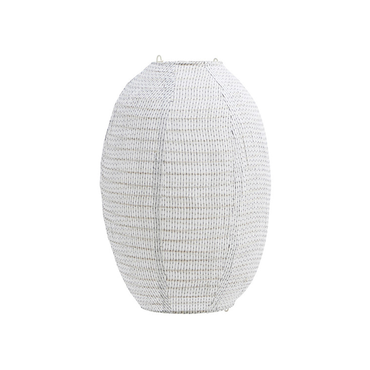 House Doctor Stitch Lampshade Off White H 40 cm