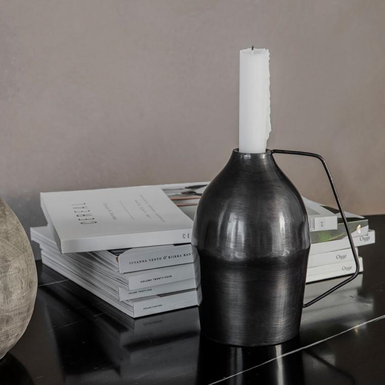 House Doctor Vigi Candle Stand Black