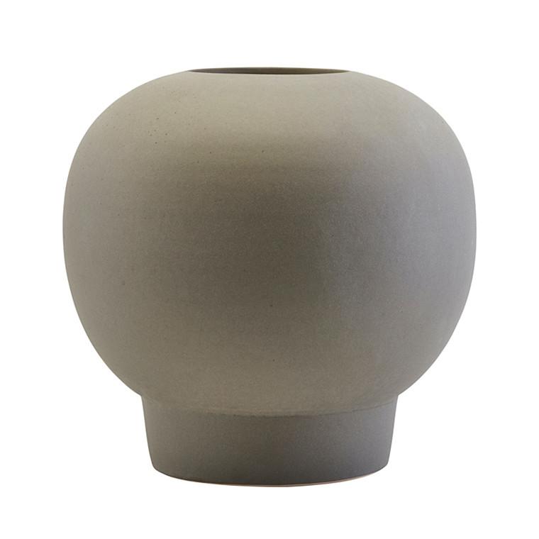 House Doctor Bobble Vase Dark Grey