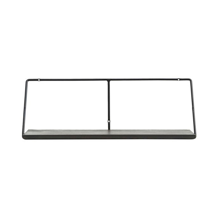 House Doctor Wired Shelf Black Stain L 70 cm