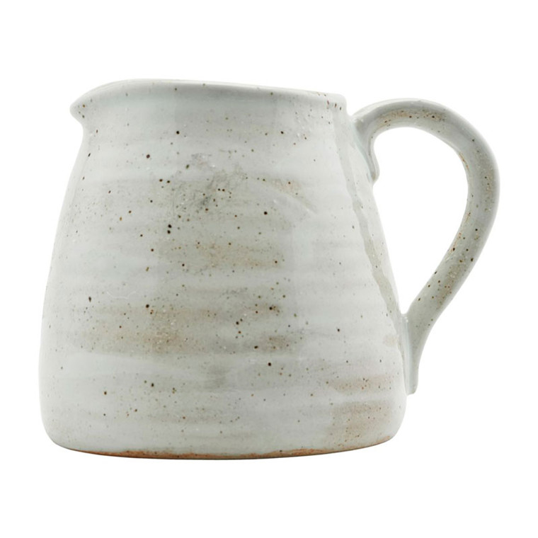 House Doctor Made Jug Ivory H 15 cm
