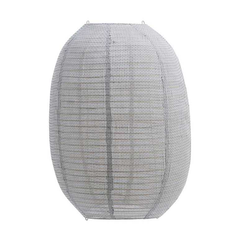 House Doctor Stitch Lampshade Light Grey H 60 cm