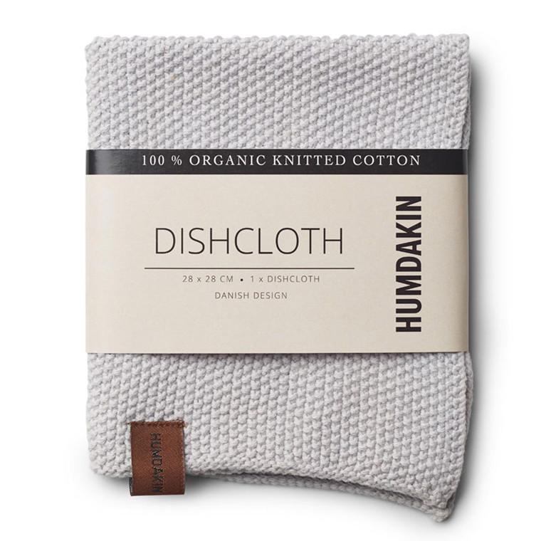 Humdakin Knitted Dishcloth Purple Grey