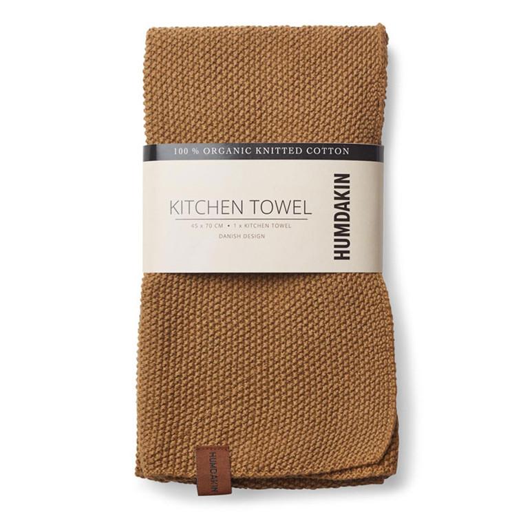 Humdakin Knitted Kitchen Tea Towel Wood