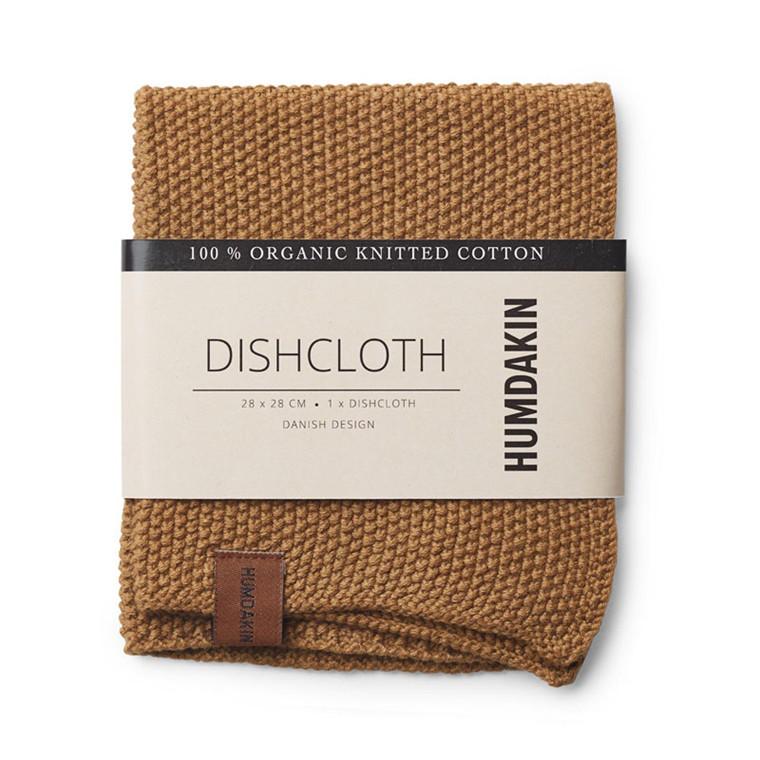 Humdakin Knitted Dishcloth Wood
