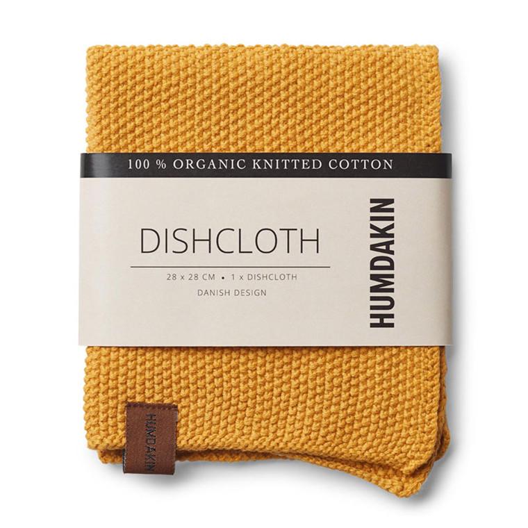 Humdakin Knitted Dishcloth Yellow Fall