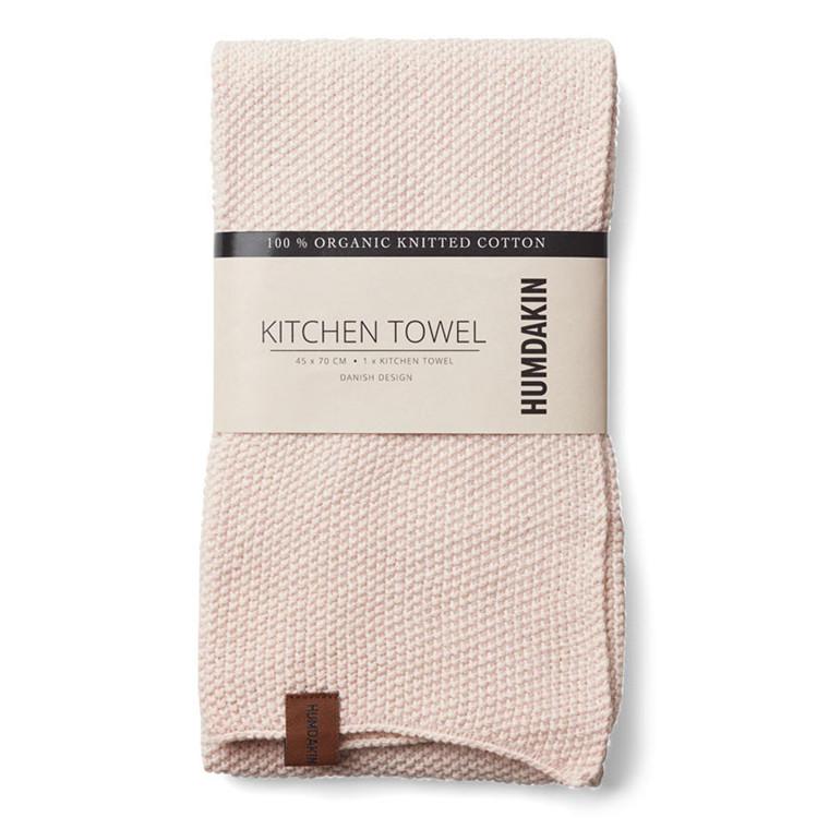Humdakin Knitted Kitchen Tea Towel Rosa Nature
