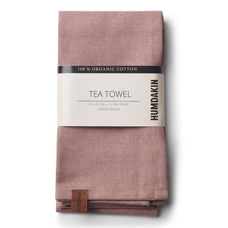 Humdakin Organic Tea Towel Dark Brown