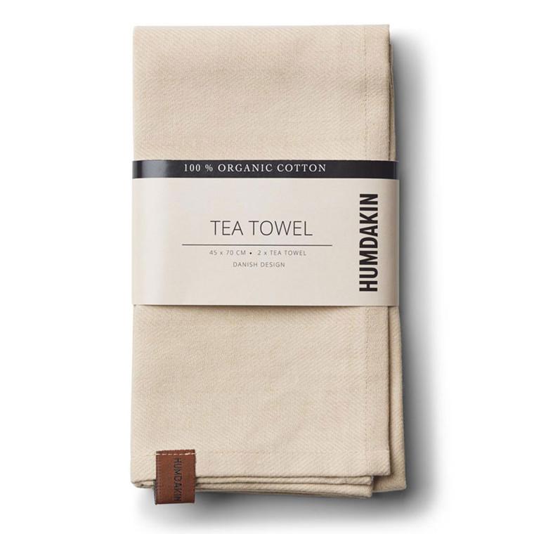 Humdakin Organic Tea Towel Sand