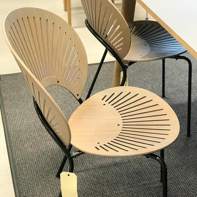 Fredericia Furniture Trinidad Stole 6 stk. Udstillingsmodel