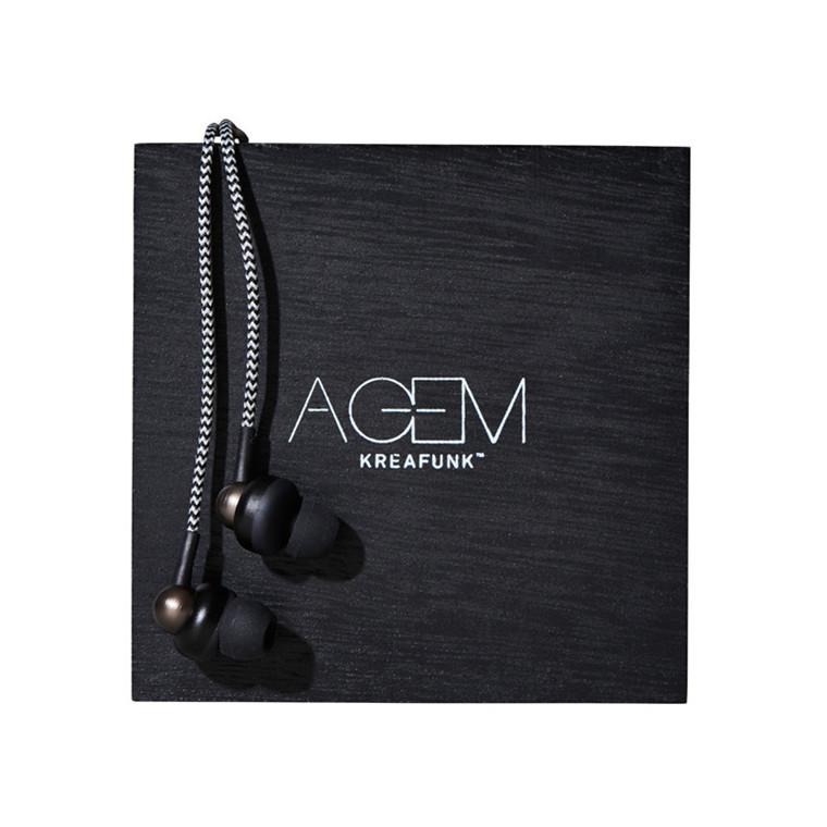 Kreafunk aGEM Høretelefoner Black Edition
