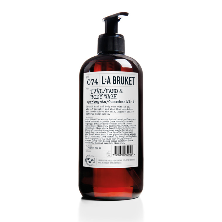 L:A Bruket Liquid Soap Cucumber & Mint