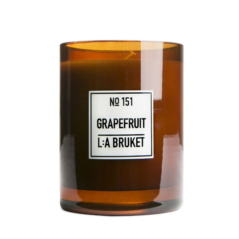 L:A Bruket Scented Candle Grape