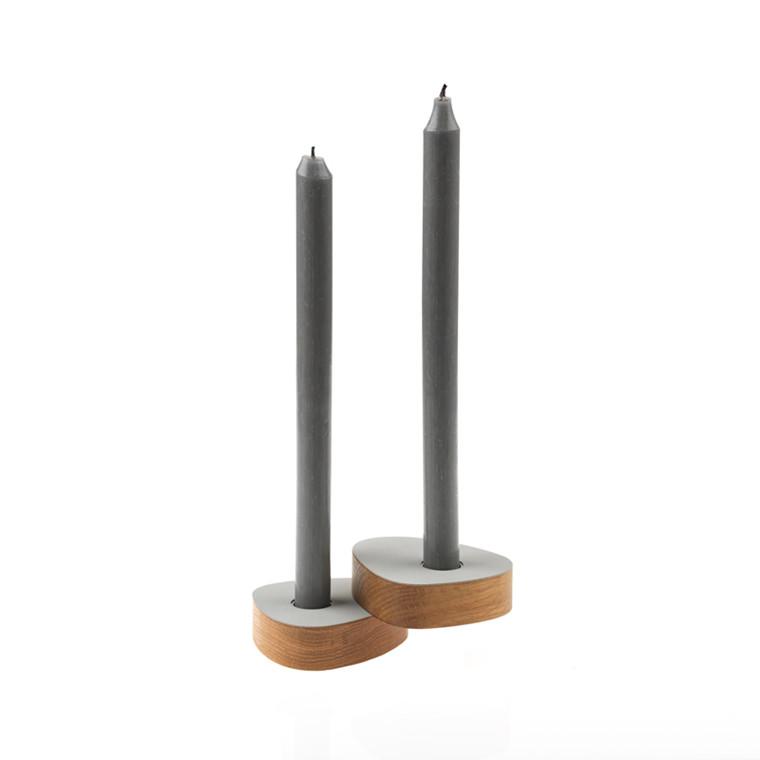 LINDDNA Curve Candle Holder 2-pak