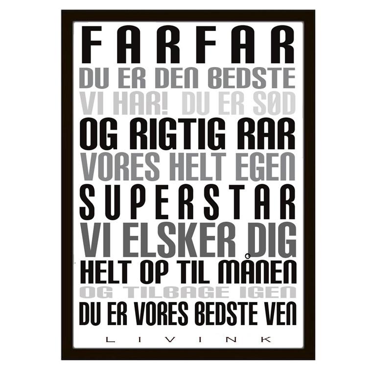 Livink Farfar Plakat