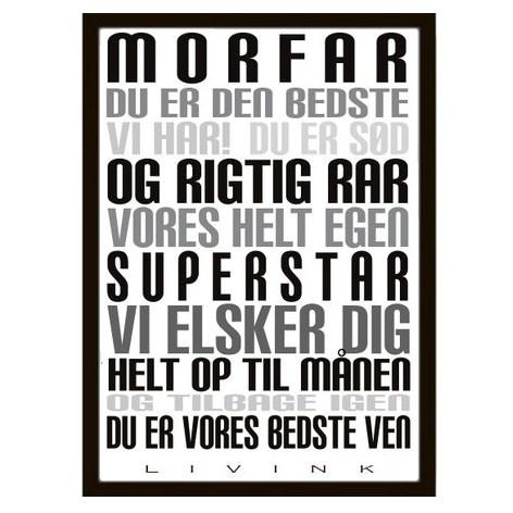 Livink Morfar Plakat